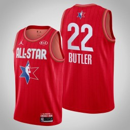 Miami Heat Jimmy Butler #22 Game Reserves Red 2020 All-Star Jersey