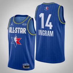 New Orleans Pelicans Brandon Ingram #14 Game Reserves Blue 2020 All-Star Jersey