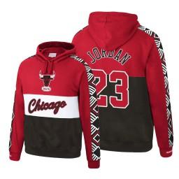 Chicago Bulls Michael Jordan #23 Hardwood Classics Red Hoodie