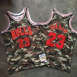 Michael Jordan #23 Stitched 1997-98 Hardwood Classics Camo Jersey