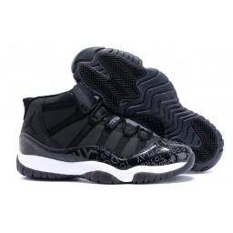 """2015 Air Jordan 11 Custom DB """"Doernbecher"""" Black White"""
