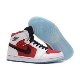 Air Jordan 1 (I) Retro High OG White Black Carmine Shoes