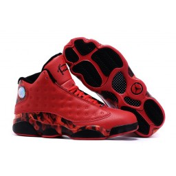 "Air Jordan 13 (XIII) Ray Allen ""Miami Heat"" Custom Red-Black"