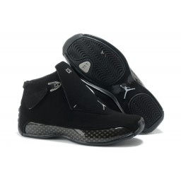 Air Jordan 18 (XVIII) All Black Shoes