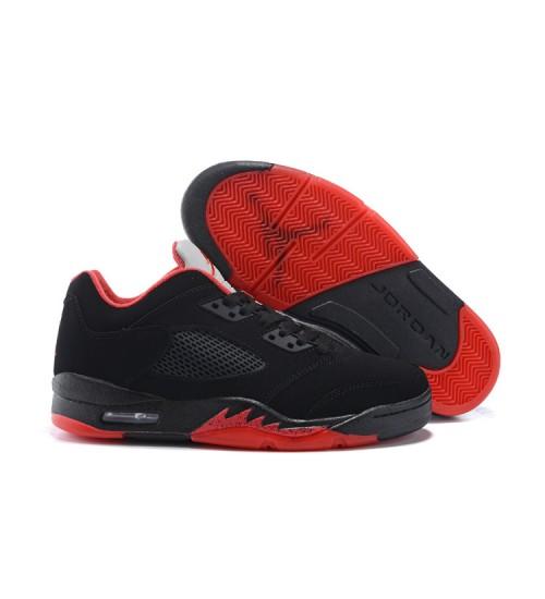 "Air Jordan 5 Low ""Alternate 90"" Black/Gym Red-Metallic Hematite 2016"