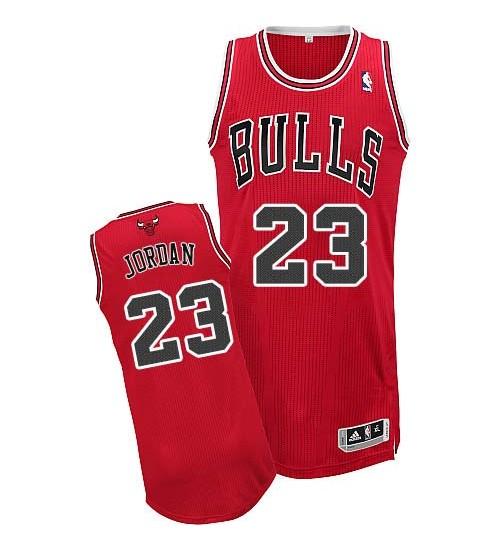 Adidas Michael Jordan Authentic Youth NBA Chicago Bulls Jersey #23 ...