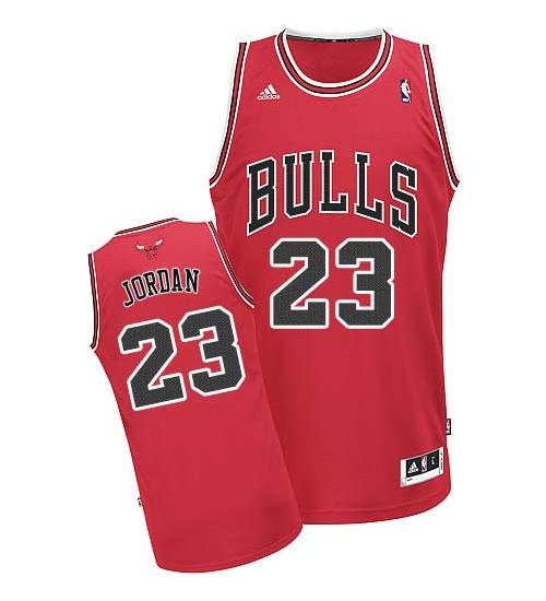 Michael Jordan Swingman Kid's NBA Chicago Bulls Jersey #23 Red Home