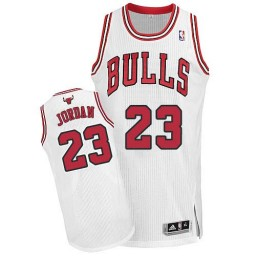 Michael Jordan Authentic Kid's NBA Chicago Bulls Jersey #23 White Alternate