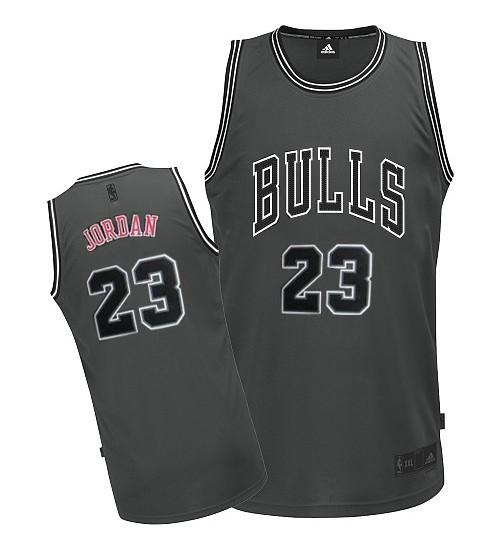 Adidas Michael Jordan Authentic Men's NBA Chicago Bulls Jersey #23 ...