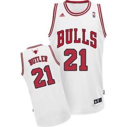 Jimmy Butler Swingman White Chicago Bulls #21 Home Jersey