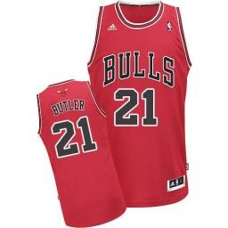 Jimmy Butler Swingman Red Chicago Bulls #21 Road Jersey