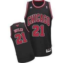Jimmy Butler Swingman Black Chicago Bulls #21 Alternate Jersey