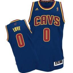 Kevin Love Swingman Navy Blue Cleveland Cavaliers CavFanatic #0 Jersey