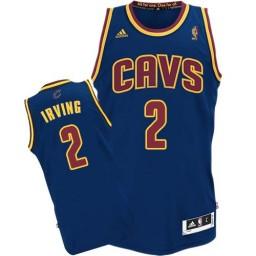 Kyrie Irving Swingman Navy Blue Cleveland Cavaliers CavFanatic #2 Jersey