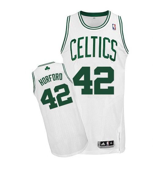 Al Horford Authentic White Boston Celtics #42 Home Jersey