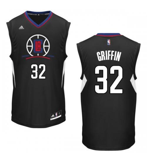 Blake GriffSwingman Black Los Angeles Clippers #32 Alternate Jersey