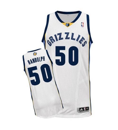 Zach Randolph Authentic White Memphis Grizzlies #50 Home Jersey