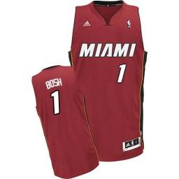Chris Bosh Swingman Red Miami Heat #1 Alternate Jersey