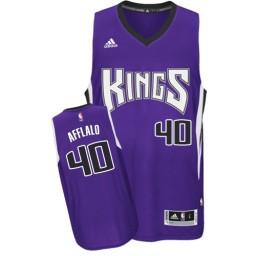 Arron Afflalo Swingman Purple Sacramento Kings #40 Road Jersey