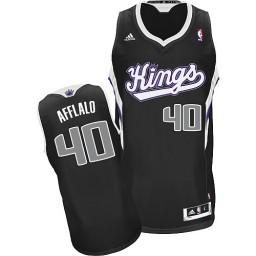 Arron Afflalo Swingman Black Sacramento Kings #40 Alternate Jersey