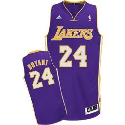 Kobe Bryant Swingman Purple Los Angeles Lakers #24 Road Jersey