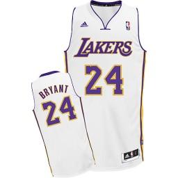 Kobe Bryant Swingman White Los Angeles Lakers #24 Alternate Jersey