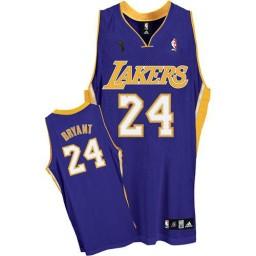Kobe Bryant Swingman Purple Champions Los Angeles Lakers #24 Road Jersey