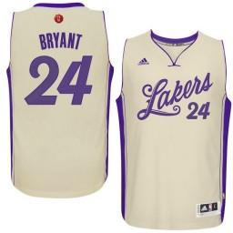 Kobe Bryant Swingman White Los Angeles Lakers 2015-16 Christmas Day #24 Jersey