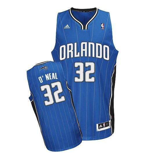Shaquille O'Neal Swingman Royal Blue Orlando Magic #32 Road Jersey