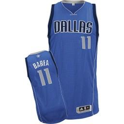 Jose Barea Authentic Royal Blue Dallas Mavericks #11 Road Jersey