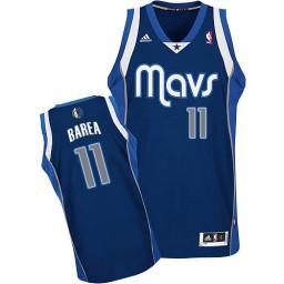 Jose Barea Swingman Navy Blue Dallas Mavericks #11 Alternate Jersey