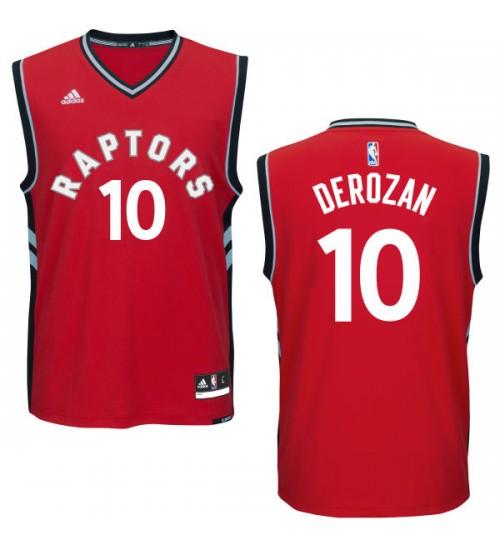 DeMar DeRozan Swingman Red Toronto Raptors #10 Road Jersey