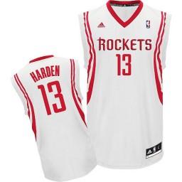 James Harden Swingman White Houston Rockets #13 Home Jersey