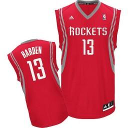 James Harden Swingman Red Houston Rockets #13 Road Jersey
