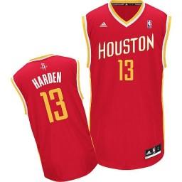 James Harden Swingman Red Houston Rockets #13 Alternate Jersey