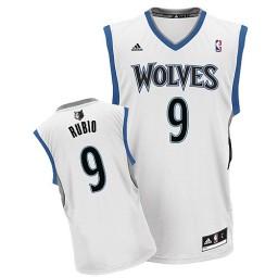 Ricky Rubio Swingman White Minnesota Timberwolves #9 Home Jersey
