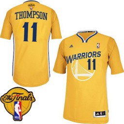 Klay Thompson Swingman Gold The Finals Golden State Warriors #11 Alternate Jersey